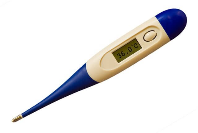 Digital Thermometer with Flexible Tip for Home Use