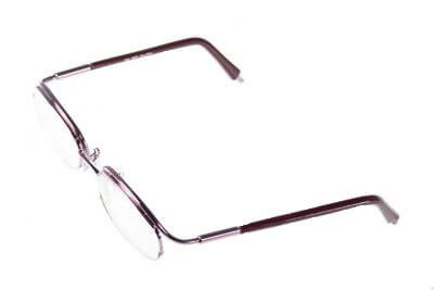 Non-Hinged Half Rim Frame 5117/3116 Light Rose